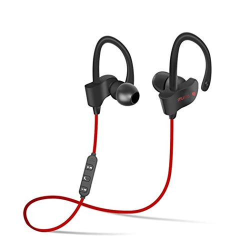 bulges Wireless Bluetooth Headphone Sporting Earphone with Mic for Moblie Phone Bluetooth - Dual Electronics Headphones Consumer