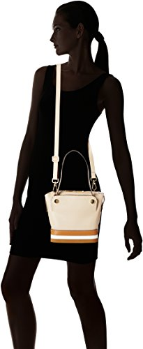 Arcadia Sole, Borsa a Mano Donna, 15x21x24 cm (W x H x L) Beige (Taupe)