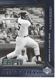 - 2005 Upper Deck ESPN This Day in Baseball History Baseball Card #BH5 Thurman Munson
