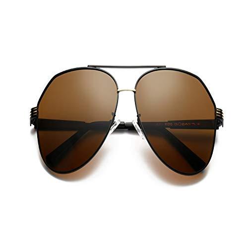 Gafas Hombres Gris Sol Oro ZYZHjy Polarizadas El Bronceado De A5w6dq6
