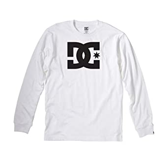 e7ab842d40 Image Unavailable. Image not available for. Color: MENS DC SHOE CO STAR  LONG SLEEVE TSHIRT ...
