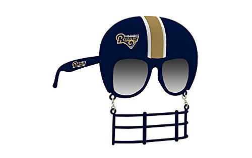 Rico Industries NFL Los Angeles Rams Novelty Tailgating Sunglasses