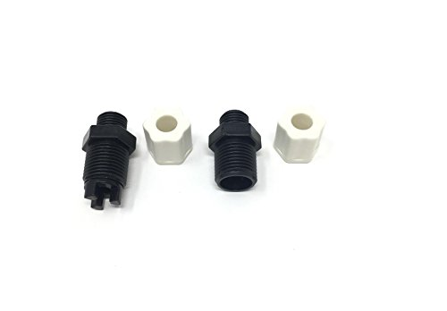 Southeastern Check Valve and Inlet Fitting Adaper Assembly Replacement For Chlorine Feeder CL220 For CLX220EA