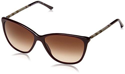 Burberry Sunglasses BE 4117 BURGUNDY 3265/13 BE4117