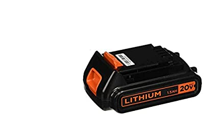 Black & Decker LBXR20 20-Volt Max Lithium-Ion Battery Pack & Black & Decker 20v Lithium-ion Charger #90590282