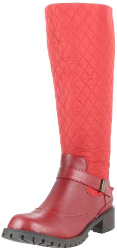 Miss Me Women's Ralph-12 Boot,Red,8.5 M US