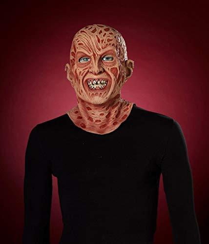 Forum Novelties 71244 Nightmare on Elm Street Super Deluxe Latex Freddy Mask, Multicolor ()