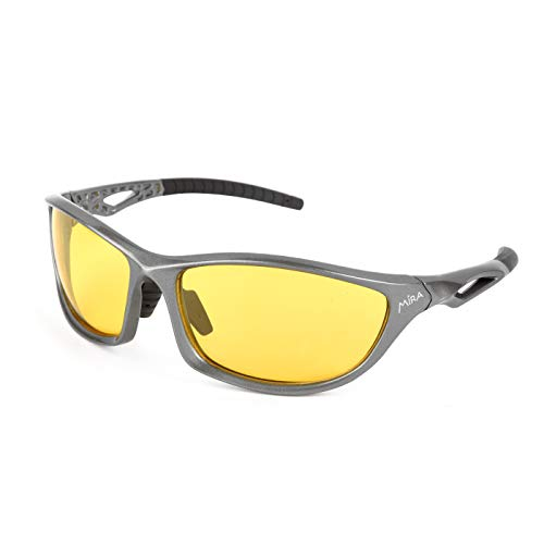 MIRA - Fusion Y - Polarized Sports Glasses - UV400 Sunglasses - Unisex for Men and Women - Strong, Durable, Lightweight, and Scratch Resistant