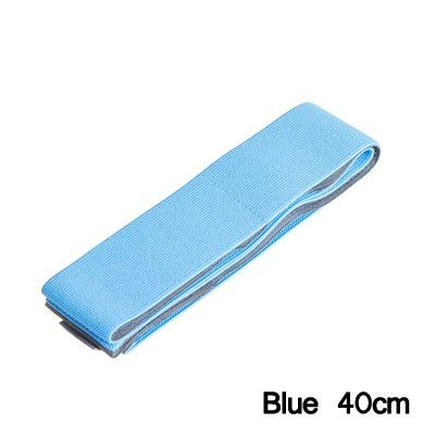 40cm Car-Styling Car Trunk Organizer Stowing Tidying Elastic Strap Fixed Sundry Automobiles Interior Accessories Products (Blue)