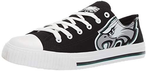 FOCO NCAA Mens College Low Top Big Logo Canvas Sneakers Shoes