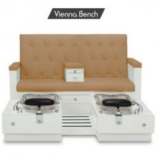 Gulfstream Vienna Double Pedicure Chair for sale  Delivered anywhere in USA
