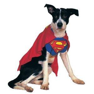 Superdog Costume (Superdog Pet Costume - Large)
