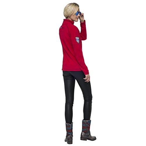 Nebulus Sudadera Fleece Larna Rojo