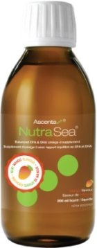 Nutra Sea Fish Oil -Mango Flavour   NutraSea Herring oil by