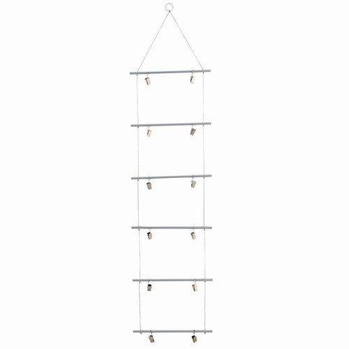 ALUMINUM PHOTO CLIP LADDER 9x38''L