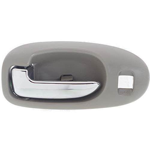 (Door Handle For 2001-2006 Chrysler Sebring Sedan Front Left Inner Light Gray)
