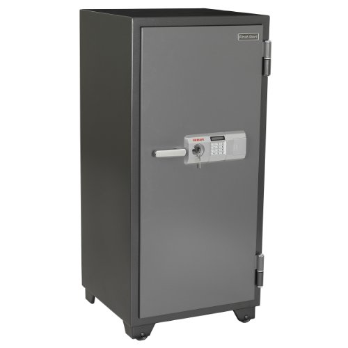 First Alert 2702DF 2 Hour Steel Fire Safe with Digital Lock, 5.91 Cubic Foot, Gray