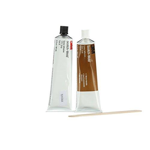 3M Scotch-Weld 20100 Epoxy Adhesive 1751 Part B/A, Gray, 2 fl. oz. Kit by 3M Scotch-Weld (Image #2)