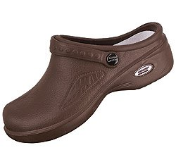Natural Uniforms Womens Ultralite Clogs Chocolate Size 7
