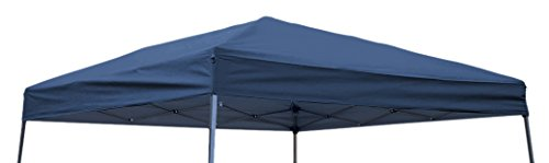 Trademark Innovations Square Replacement Gazebo Top for 10' Slant Leg Canopy, 8' x8', ()