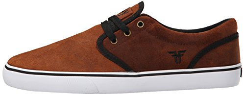 FALLEN Skateboard Shoes THE EASY BROWN/BLACK Size 12