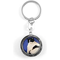 Toynk Cat Key Ring Accessory | Multi-Purpose Key Chain | Features an Irresistible Kitty | Perfect for Cat Lovers