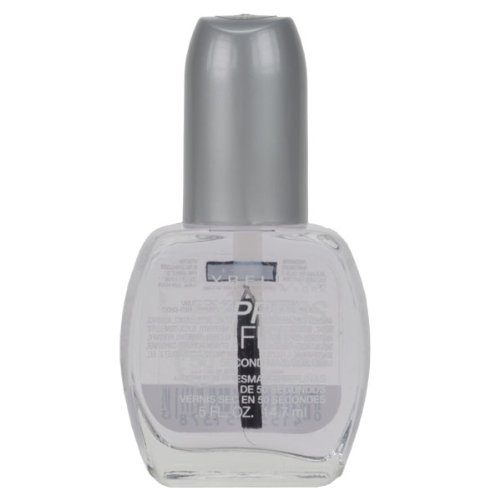 Maybelline New York Express Finish 50 Second Nail Color, Base and Top Coat 10, 0.5 Fluid Ounce (Nail Polish Clear Essie)