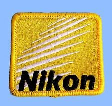 Nikon DSLR Digital Embroidered Patch Badge - Sew on or Iron on your  favourite jacket, hat, Racing suits, backpack, bag or simply keep as a  collection