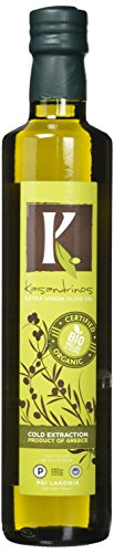Kasandrinos Organic Extra Virgin Greek Olive Oil (500 ML Bottle)