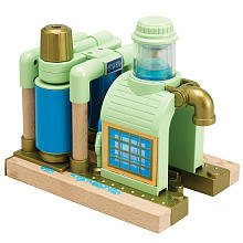 Chuggington Wooden Railway Chug Wash by TOMY