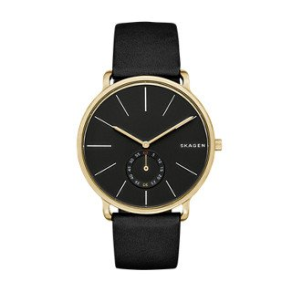 Skagen-Mens-SKW6217-Hagen-Black-Leather-Watch