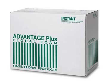 Bulk Advantage® Plus Oasis® Floral Foam. Case of 240 Bricks by Oasis