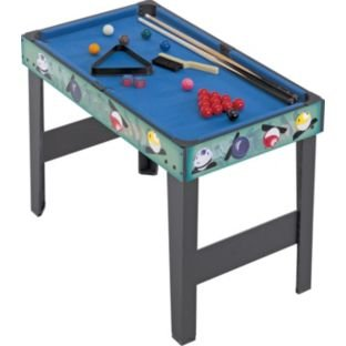 Chad Valley 3ft 4-in-1 Multigames Table -Graphics may vary to image by Hy-Pro
