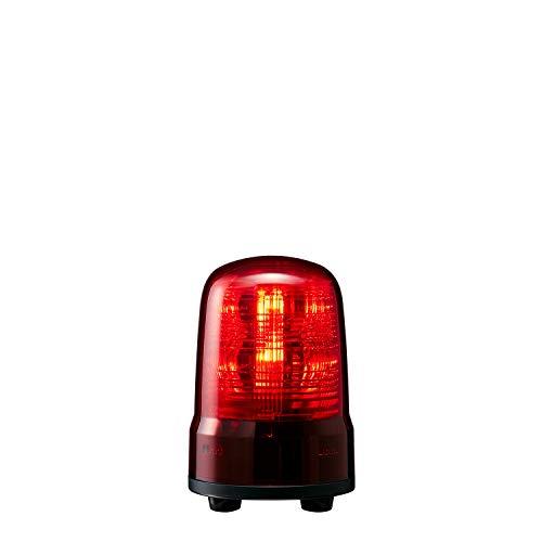 パトライト 回転灯 SF08-M1JN-R Φ80 DC12~24V 発光パターン(22種) 赤色 3点ボルト足取付