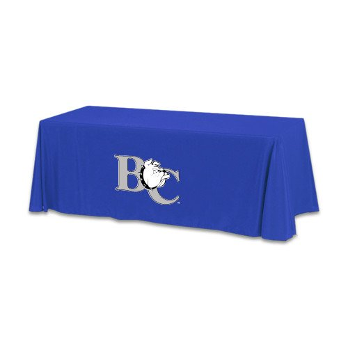 Barton Royal 6 foot Table Throw 'Official Logo' by CollegeFanGear