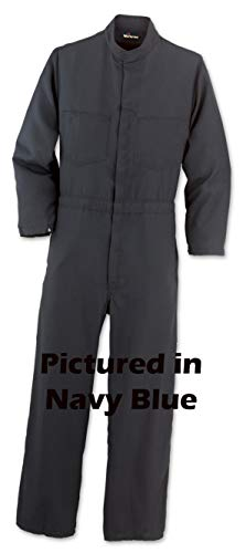 - Workrite Flame Resistant Contractor Coverall, 9.5 oz/yd Indura