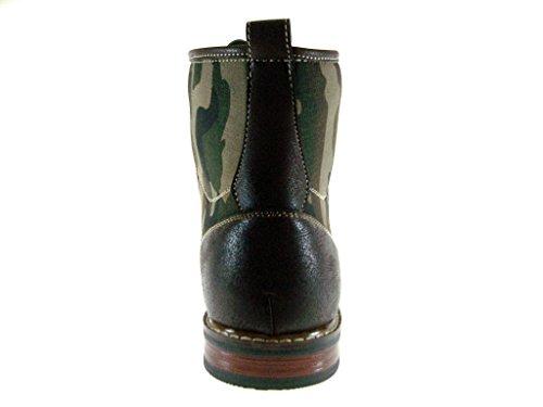Brown Print 808562A Dress Combat Mens Ferro Style Camouflage Aldo Military Boots I4vqg
