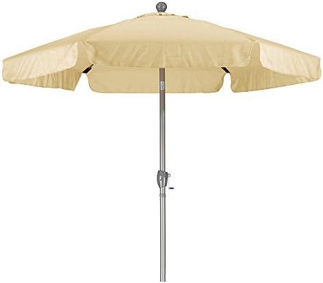 California Umbrella 7.5' Round Aluminum Pole Fiberglass Rib Umbrella