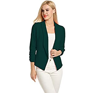 Open Front Cardigan Jacket
