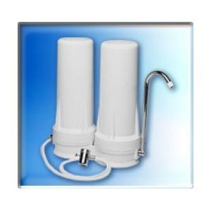 QMP603 Two Stage Countertop Water Filter System Countertop Double Stage Filter