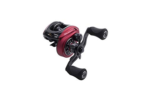 Abu Garcia, Revo Rocket Low Profile Casting Reel, 10.1:1 Gear Ratio, 11 Bearings, 41' Retrieve Rate, Left Hand