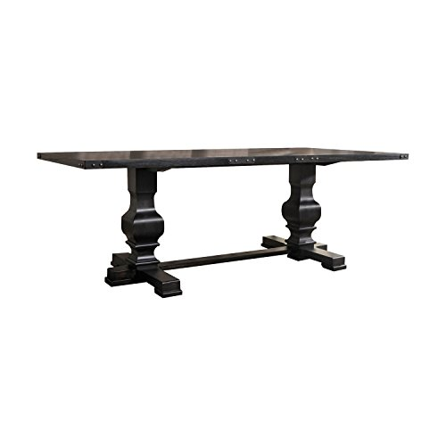(ACME Furniture  Morland Dining Table, Vintage Black)
