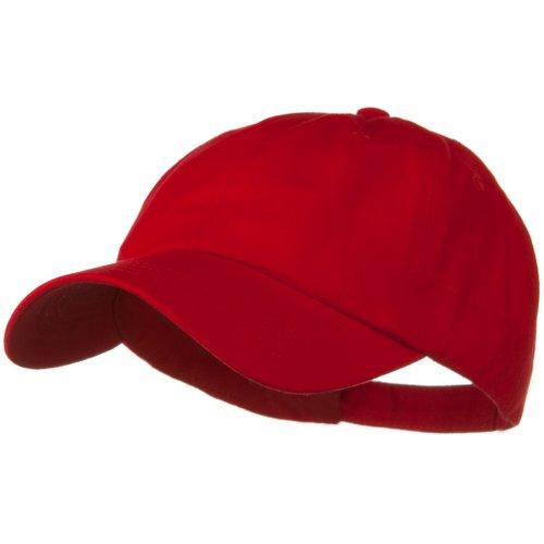 Otto Caps Solid Brushed Cotton Twill Low Profile Cap - - Otto Twill Caps Cotton