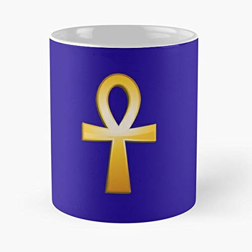 (Anch Ankh Symbol Cross - Funny Present For My Greatest Boss Male Or Female, Men, Women, Great Office Gift Mugs, Birthday, Leaving, Bold, Cup, 11 Oz)