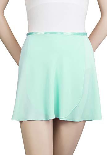 Drape Georgette - Trienawear Womens Ballet Skirt, 14