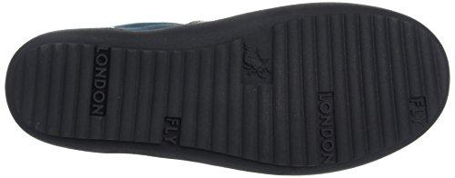 FLY London Mage253fly - Zapatillas para mujer Azul (Petrol/petrol 005)