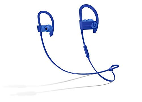 Powerbeats3 Wireless Earphones - Apple W1 Headphone Chip, Class 1 Bluetooth, 12 Hours Of Listening Time, Sweat Resistant Earbuds - Break Blue