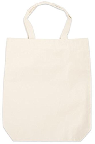 Janlynn 961-1059 Canvas Tote Bag, 14 by 4 by 16-Inch, Natural ()