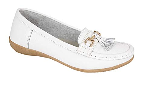 Gladrags Gladrags Blanc Pour Ballerines Ballerines Femme ROxqpRzw
