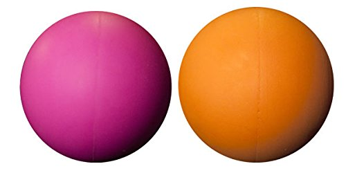 Blue Three Assorted Color Lacrosse Balls Orange red Misc.